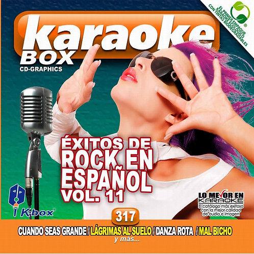 KBO-317 - Éxitos De Rock En Español Vol. 11