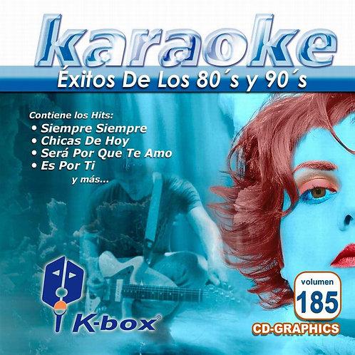 KBO-185 - Éxitos  80's y 90's Vol. I