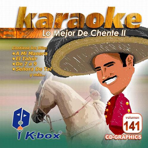 KBO-141 - Lo Mejor De Chente II