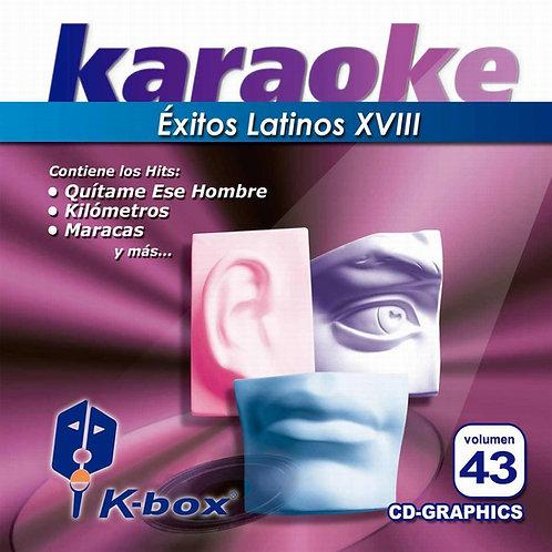 KBO-043 - Éxitos Latinos XVIII
