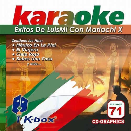 KBO-071 - Éxitos De LuisMi Con Mariachi X