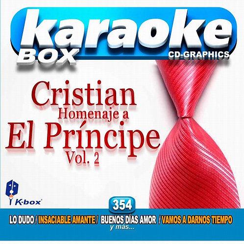 KBO-354 - Cristian Homenaje A El Príncipe Vol.2
