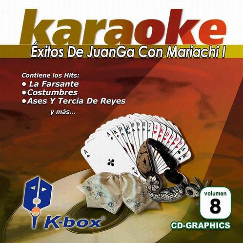 KBO-008 - Éxitos De JuanGa Con Mariachi I