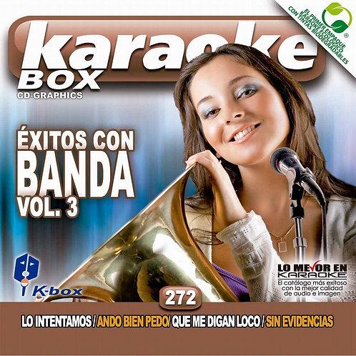 KBO-272 - Éxitos Con Banda Vol. 3