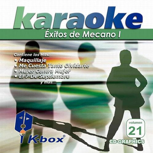KBO-021 - Éxitos De Mecano
