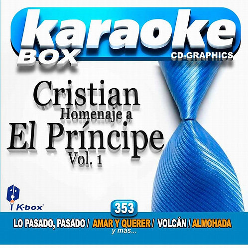 KBO-353 - Cristian Homenaje A El Príncipe Vol.1