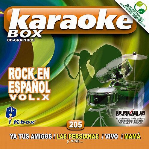 KBO-205 - Rock En Español Vol. X