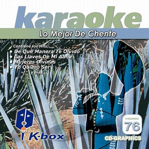 KBO-076 - Lo Mejor De Chente