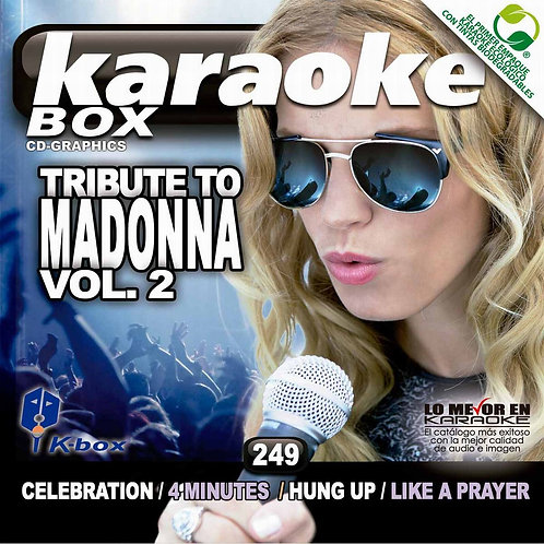 KBO-249 - Tribute To Madonna Vol. 2