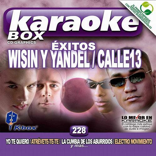 KBO-228 - Éxitos Wisin Y Yandel / Calle 13
