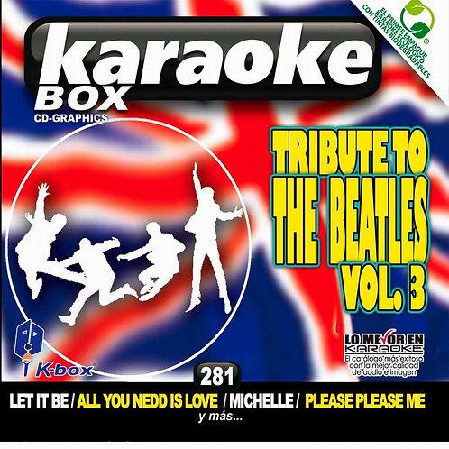 KBO-281 - Tribute To The Beatles Vol. 3