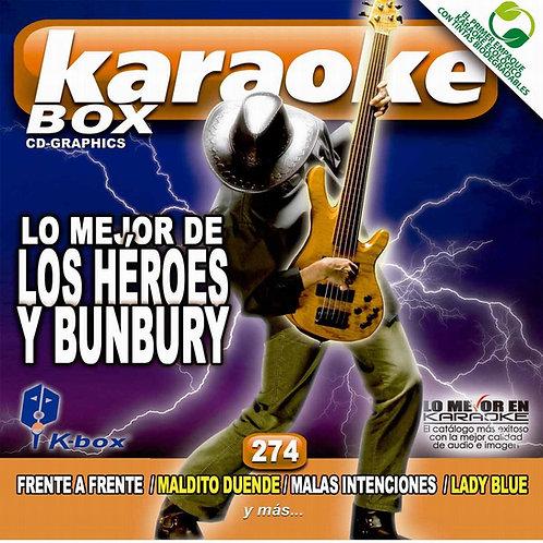 KBO-274 - Lo Mejor De Los Héroes Y Bunbury