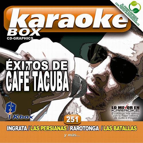KBO-251 - Éxitos De Café Tacuba