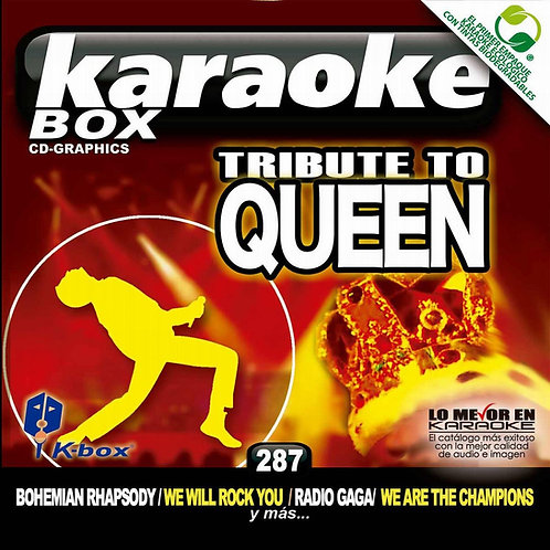 KBO-287 - Tribute To Queen