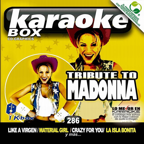 KBO-286 - Tribute To Madonna
