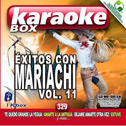 KBO-329 - Éxitos Con Mariachi Vol. 11
