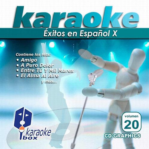 KBO-020 - Éxitos En Español X