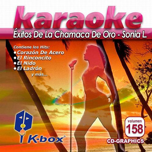 KBO-158 - Éxitos De La Chamaca De Oro-Sonia L.