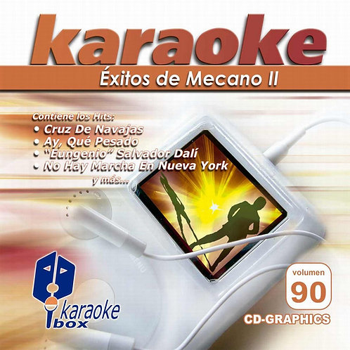 KBO-090 - Éxitos De Mecano II