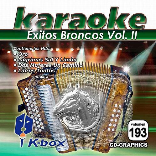 KBO-193 - Éxitos De Bronco Vol. II