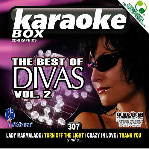 KBO-307 - The Best Of Divas Vol. 2