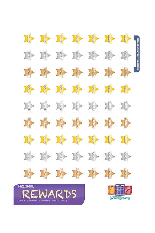 Reward Stickers Sheets - Pack of 5