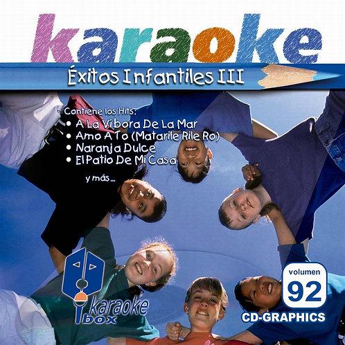 KBO-092 - Éxitos Infantiles III