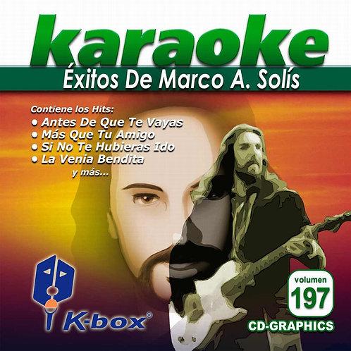 KBO-197 - Éxitos De Marco A. Solís
