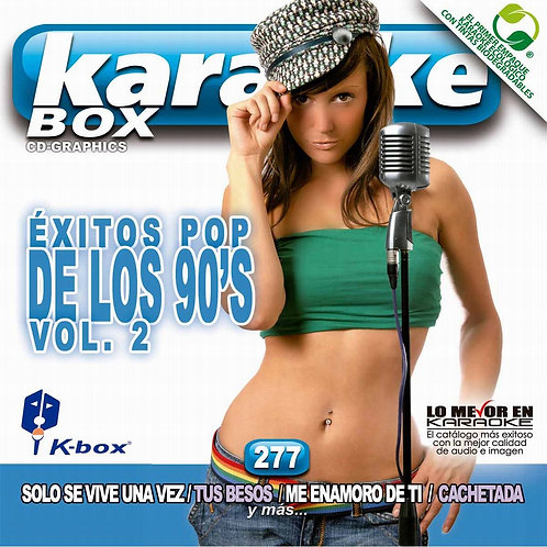 KBO-277 - Éxitos Pop De Los 90's Vol. 2