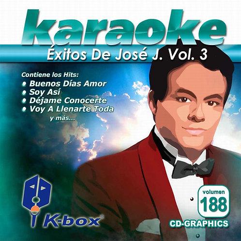 KBO-188 - Éxitos De José José Vol. 3