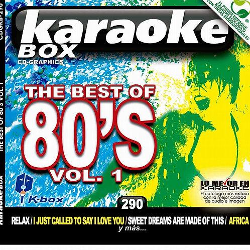 KBO-290 - The Best Of 80's Vol. 1