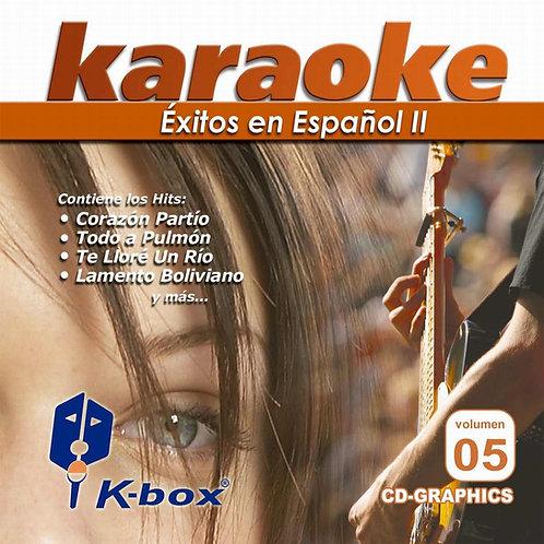 KBO-005 - Éxitos En Español II