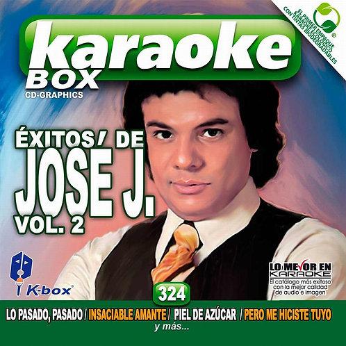 KBO-324 - Éxitos De José J. Vol. 2