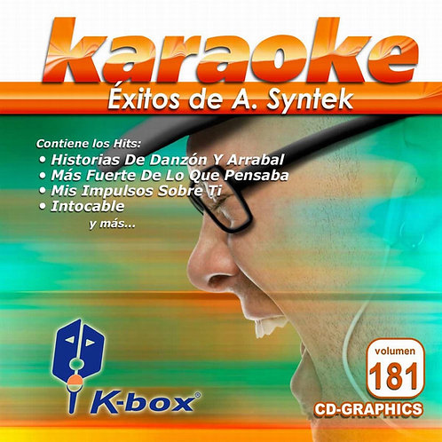 KBO-181 - Éxitos De A. Syntek