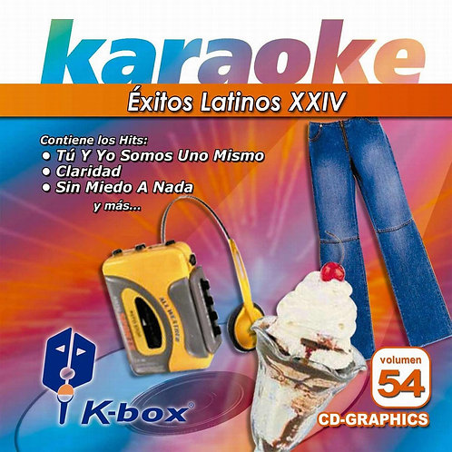 KBO-054 - Éxitos Latinos XXIV