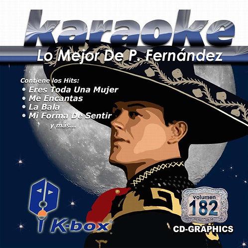 KBO-182 - Lo Mejor De Pedro Fernández