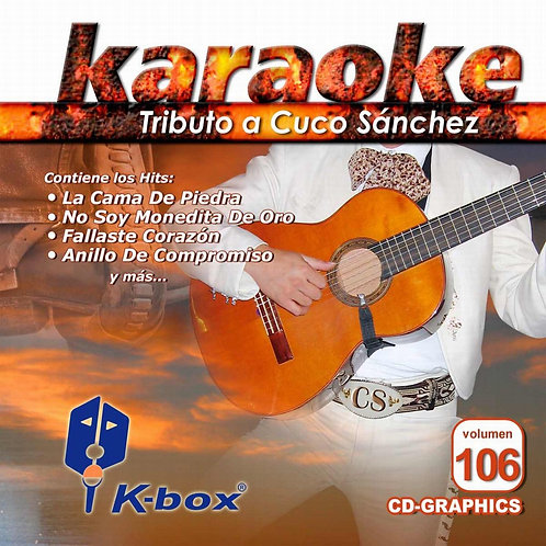 KBO-106 - Tributo A Cuco Sánchez