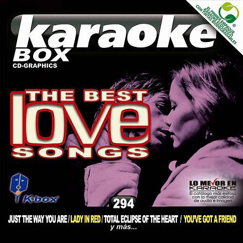 KBO-294 - The Best Love Songs