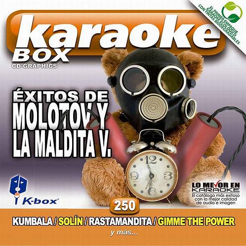 KBO-250 - Éxitos De Molotov Y La Maldita V.