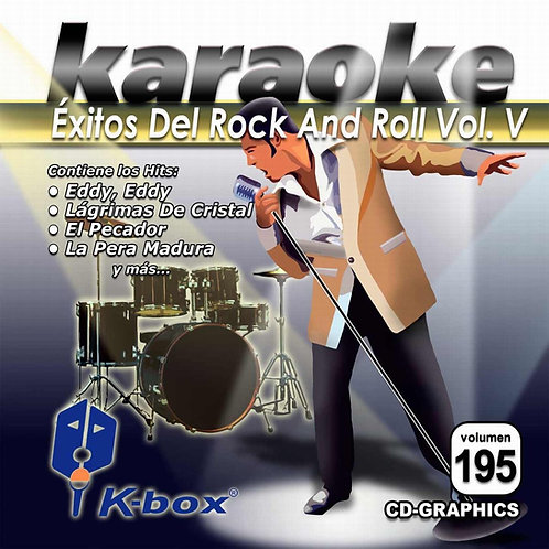 KBO-195 - Éxitos Del Rock And Roll Vol. V