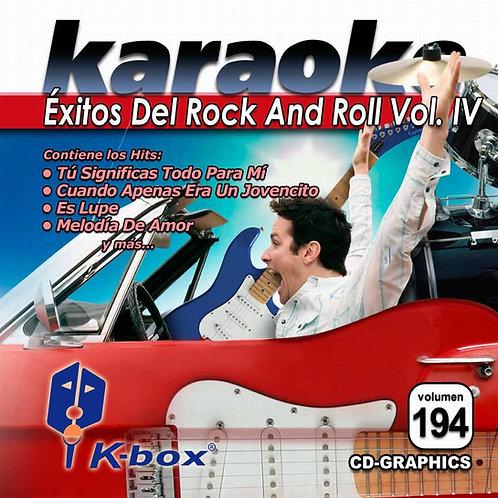 KBO-194 - Éxitos Del Rock And Roll Vol. IV