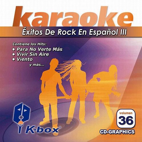 KBO-036 - Rock En Español III