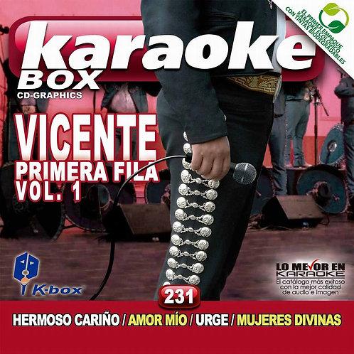 KBO-231 - Vicente Primera Fila Vol. 1