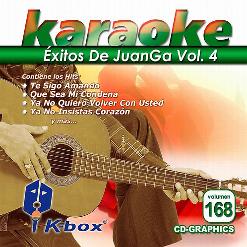 KBO-168 - Éxitos De JuanGa Vol. 4