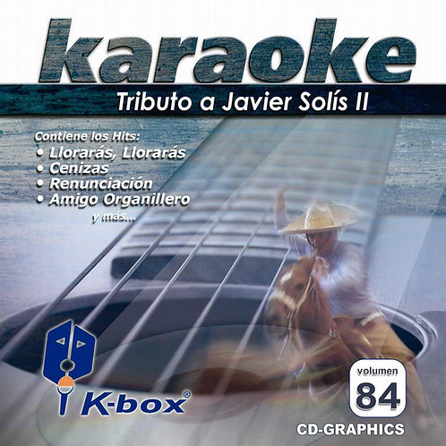KBO-084 - Tributo A Javier Solís II