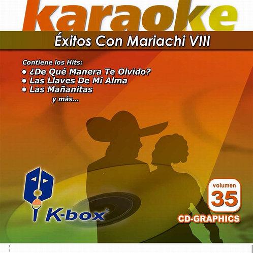 KBO-035 - Éxitos Con Mariachi VIII