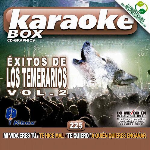 KBO-225 - Éxitos De Los Temerarios Vol. 2
