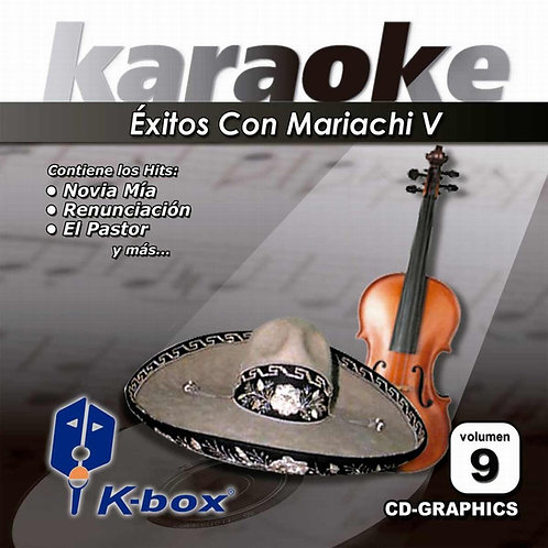 KBO-009 - Éxitos Con Mariachi V