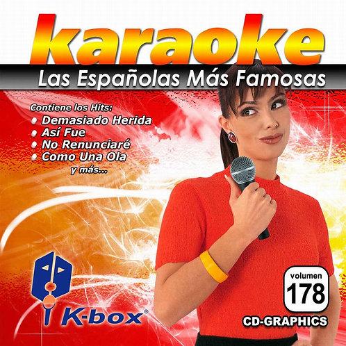 KBO-178 - Las Españolas Más Famosas