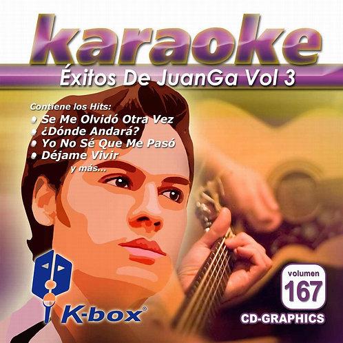KBO-167 - Éxitos De JuanGa Vol. 3